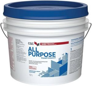 CGC DRYWALL COMPOUND READY MIXED ALL PURPOSE 12L PAIL