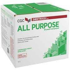 CGC DRYWALL COMPOUND READY MIXED ALL PURPOSE 16L GREEN BOX