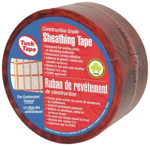SHEATHING RED TAPE TUCK POLYP 60MMX66M