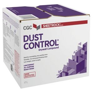 CGC DRYWALL COMPOUND READY MIXED DUST CONTROL 17L Purple Box
