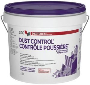 CGC DRYWALL COMPOUND READY MIXED DUST CONTROL 12L PAIL