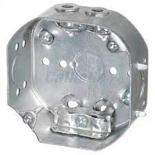 """4"""" OCTAGON BOX for ARMOURED CABLE"""